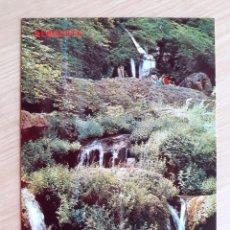 Postales: TARJETA POSTAL - ALBACETE - LOS CHORROS - RIOPAR - CASCADA DEL MUNDO № 865. Lote 206883803