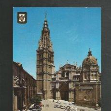 Postales: POSTAL SIN CIRCULAR - TOLEDO 45 - LA CATEDRAL - EDITA ESCUDO DE ORO. Lote 206962843