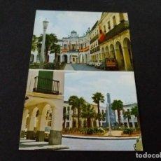Postales: POSTAL DE MANZANARES -CIUDAD REAL PLAZA JOSE ANTONIO - LA DE LA FOTO VER TODAS MIS POSTALES. Lote 207052222