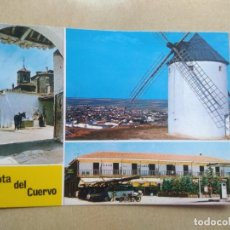 Postales: POSTAL MOTA DEL CUERVO, TIPICA CASA DE LABRANZA. Lote 207077198