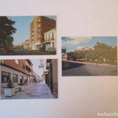 Postales: TRES POSTALES MANZANARES, CIUDAD REAL - EDICIONES FITER. Lote 207162382