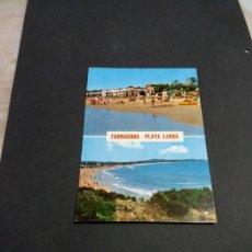 Postales: POSTAL DE TARRAGONA - PLAYA LARGA- BONITAS VISTAS- LA DE LA FOTO VER TODAS MIS POSTALES. Lote 207182795