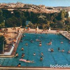 Postales: POSTAL TOLEDO CAMPING EL GRECO PISCINA EL ANGEL 1967 ED. ARRIBAS. Lote 207229403