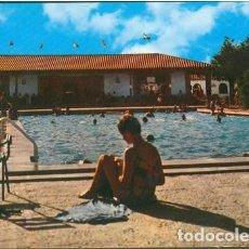 Postales: POSTAL TOLEDO CAMPING EL GRECO PISCINA EL ANGEL RESTAURANTE 1965 ED. ARRIBAS. Lote 207229960