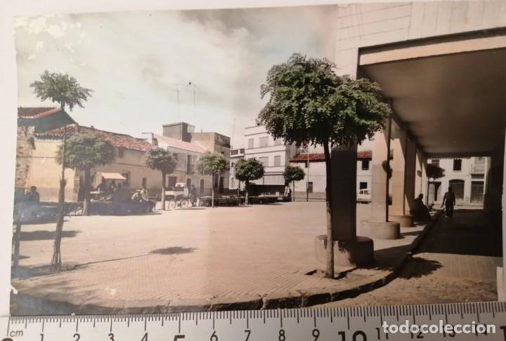 ALDEA DEL REY. PLAZA DEL GENERALISIMO. POSTAL (Postales - España - Castilla la Mancha Moderna (desde 1940))