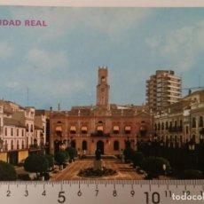 Postales: CIUDAD REAL. PLAZA DEL GENERALISIMO.. Lote 207288067