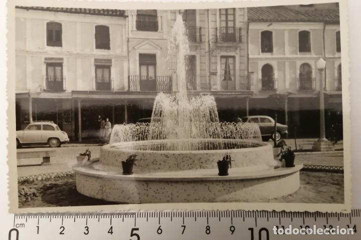 CIUDAD REAL. FUENTE DE LA PLAZA DEL GENERALISIMO (Postales - España - Castilla la Mancha Moderna (desde 1940))