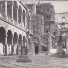 Postales: TOLEDO - PATIO DEL ALCAZAR - EDICIONES GARCIA GARRABELLA. Lote 207579071