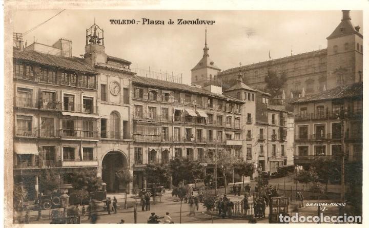 TOLEDO PLAZA DE ZOCODOVER FOTOGRÁFICA SIN CIRC. (Postales - España - Castilla la Mancha Moderna (desde 1940))