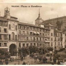 Postales: TOLEDO PLAZA DE ZOCODOVER FOTOGRÁFICA SIN CIRC.. Lote 209645385