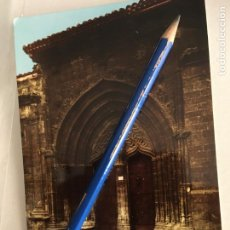 Postales: ALBACETE,POSTAL ALCARAZ, PUERTA DE LA IGLESIA DE LA TRINIDAD, FOTO LOPEZ, EDICIONES ARRIBAS. Lote 209836650