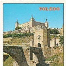 Postales: [POSTAL] PUENTE DE ALCÁNTARA Y ALCÁZAR. TOLEDO (SIN CIRCULAR). Lote 209893927