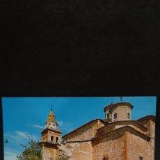 Postales: POSTAL CASAS IBAÑEZ, ALBACETE. IGLESIA DE SAN JUAN BAUTISTA.. Lote 210155818