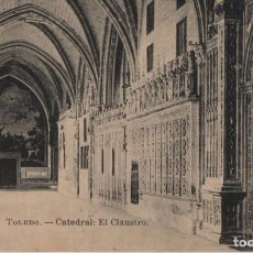 Postales: CATEDRAL-EL CAUSTRO-TOLEDO. Lote 210166975