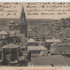 Postales: VISTA PARCIAL DESDE EL ALCAZAR-CIRCULADA Y SIN SELLO-TOLEDO. Lote 210167092