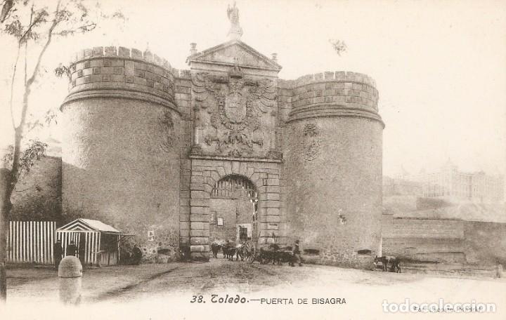 TOLEDO Nº38 PURT DE BISAGRA FOT. LACOSTE SIN CIRC. (Postales - España - Castilla La Mancha Antigua (hasta 1939))