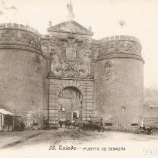 Postales: TOLEDO Nº38 PURT DE BISAGRA FOT. LACOSTE SIN CIRC.. Lote 210205690