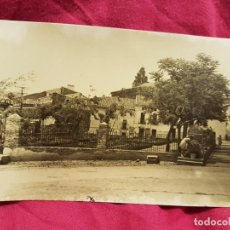 Postales: ANTIGUA FOTO POSTAL ALMADEN 1958 PLAZA ESCOSURA. Lote 210254256