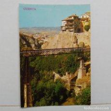 Postales: CUENCA, CASAS COLGADAS Y PUENTE DE SAN PABLO Nº 388 EDICIONES PARIS. Lote 210588670