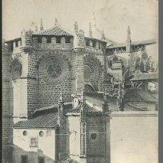 Postales: ANTIGUA POSTAL 1358 TOLEDO ABSIDE DE LA CATEDRAL HAUSER Y MENET. Lote 210703225