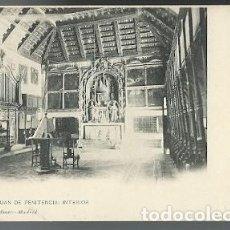 Postales: ANTIGUA POSTAL 1371 TOLEDO SAN JUAN DE PENITENCIA INTERIOR HAUSER Y MENET MADRID. Lote 210703316