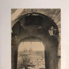 Postales: TOLEDO POSTAL: PUERTA DE AVILANA. FOTOTIPIA HAUSER Y MENET (H.1900?) S/C. Lote 210787577