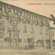 Postales: GUADALAJARA. PALACIO DEL INFANTADO. CIRCULADA 1929. Lote 210971774