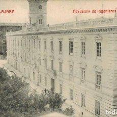 Postales: GUADALAJARA. ACADEMIA DE INGENIEROS, Nº 31. ED. A. CONCHA. SIN CIRCULAR. Lote 210971810