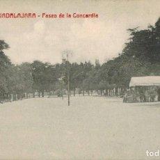 Postales: GUADALAJARA. PASEO DE LA CONCORDIA, Nº 32. ED. A. CONCHA. SIN CIRCULAR. Lote 210971864