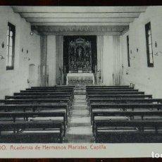 Postales: POSTAL DE TOLEDO, ACADEMIA DE HERMANOS MARISTAS. CARRERA MILITAR, BACHILLERATO, CORREOS Y TELEGRAFOS. Lote 210972390