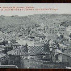 Postales: POSTAL DE TOLEDO, ACADEMIA DE HERMANOS MARISTAS. CARRERA MILITAR, BACHILLERATO, CORREOS Y TELEGRAFOS. Lote 210972555