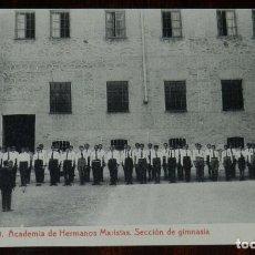 Postales: POSTAL DE TOLEDO, ACADEMIA DE HERMANOS MARISTAS. CARRERA MILITAR, BACHILLERATO, CORREOS Y TELEGRAFOS. Lote 210972852