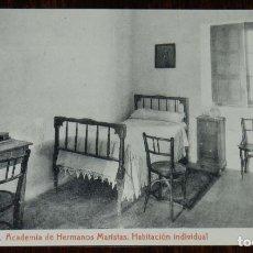 Postales: POSTAL DE TOLEDO, ACADEMIA DE HERMANOS MARISTAS. CARRERA MILITAR, BACHILLERATO, CORREOS Y TELEGRAFOS. Lote 210973079
