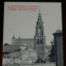 Postales: POSTAL DE TOLEDO, ACADEMIA DE HERMANOS MARISTAS. CARRERA MILITAR, BACHILLERATO, CORREOS Y TELEGRAFOS. Lote 210973112