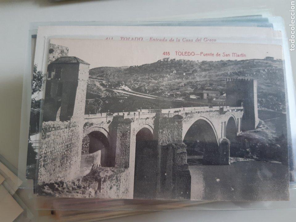 Postales: Lote de 160 postales antiguas de Toledo - Foto 4 - 212687906