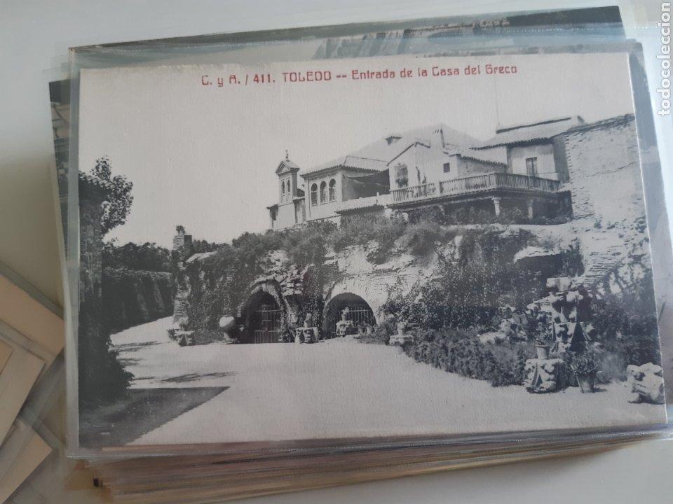 Postales: Lote de 160 postales antiguas de Toledo - Foto 5 - 212687906