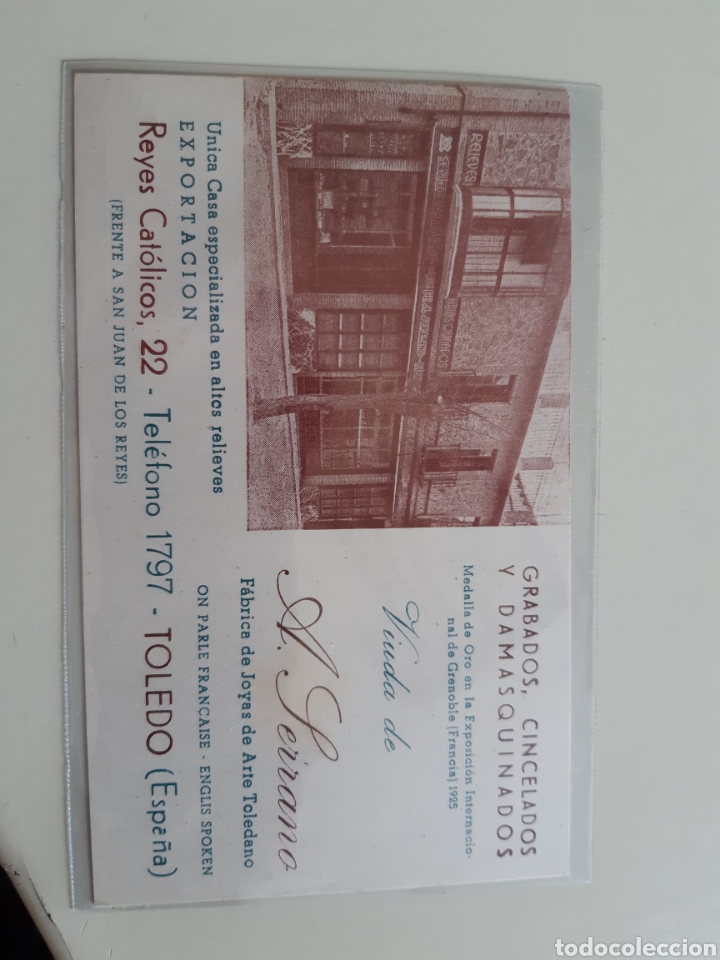 Postales: Lote de 160 postales antiguas de Toledo - Foto 9 - 212687906