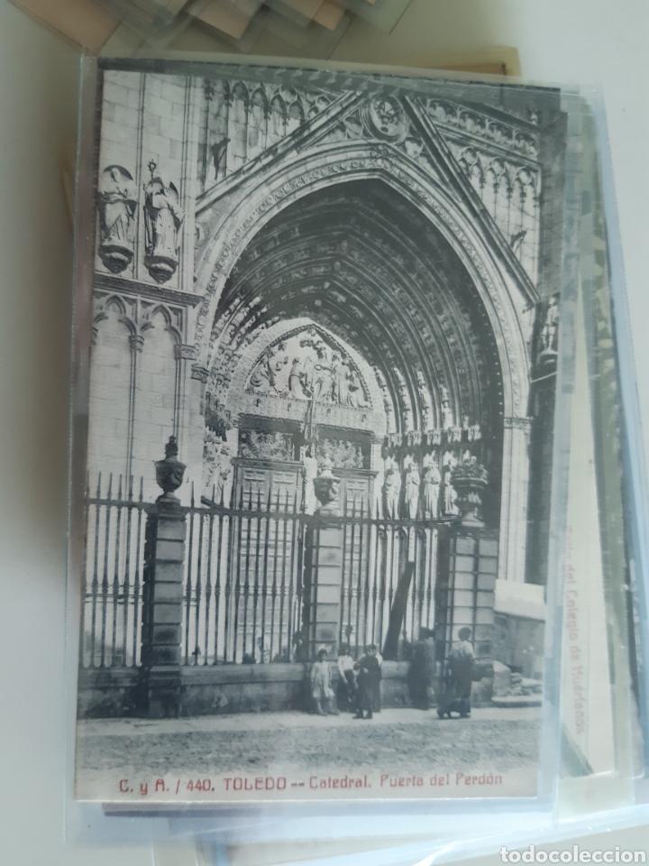 Postales: Lote de 160 postales antiguas de Toledo - Foto 10 - 212687906