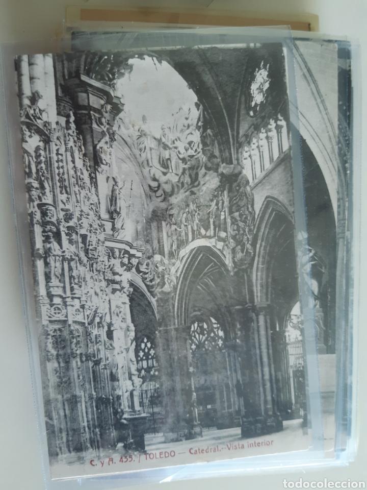 Postales: Lote de 160 postales antiguas de Toledo - Foto 11 - 212687906