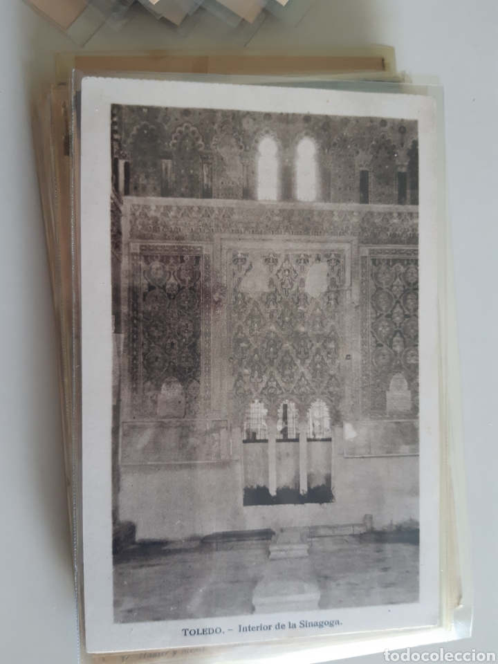 Postales: Lote de 160 postales antiguas de Toledo - Foto 12 - 212687906