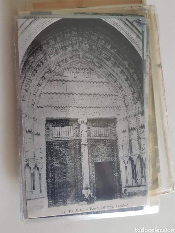 Postales: Lote de 160 postales antiguas de Toledo - Foto 13 - 212687906