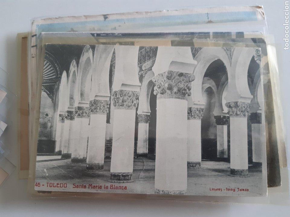 Postales: Lote de 160 postales antiguas de Toledo - Foto 14 - 212687906