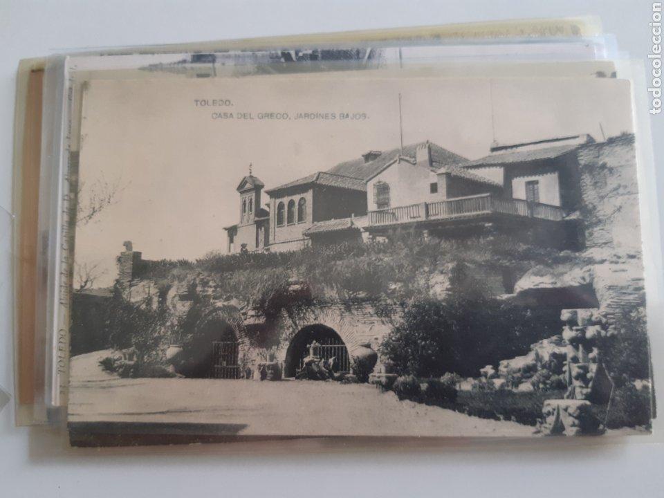 Postales: Lote de 160 postales antiguas de Toledo - Foto 16 - 212687906