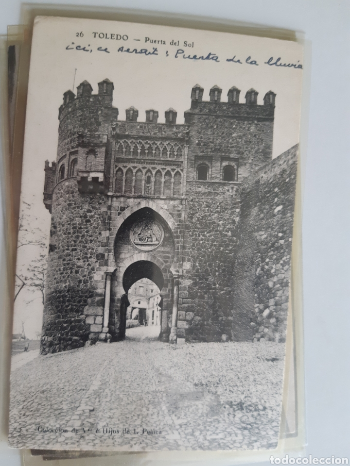 Postales: Lote de 160 postales antiguas de Toledo - Foto 17 - 212687906