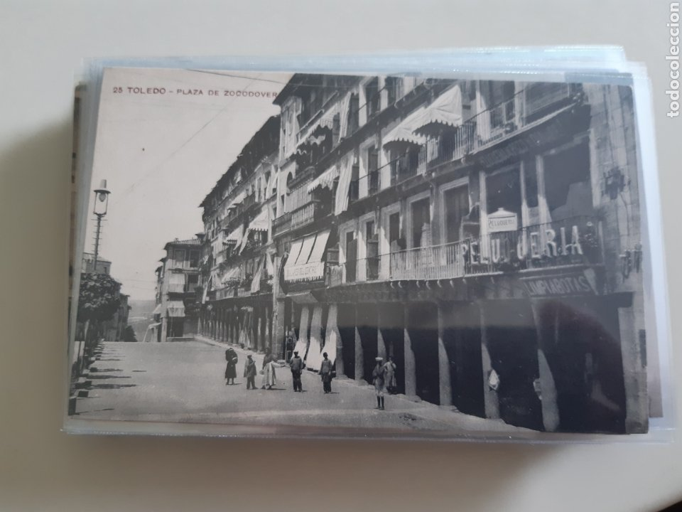Postales: Lote de 160 postales antiguas de Toledo - Foto 25 - 212687906