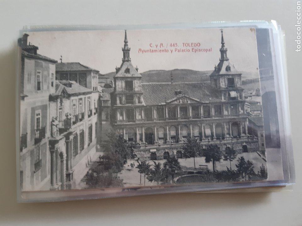 Postales: Lote de 160 postales antiguas de Toledo - Foto 29 - 212687906