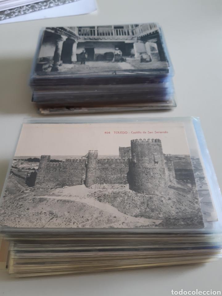 LOTE DE 160 POSTALES ANTIGUAS DE TOLEDO (Postales - España - Castilla La Mancha Antigua (hasta 1939))
