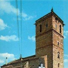 Cartoline: QUINTANAR DE LA ORDEN - 12 CRUZ DE LOS CAÍDOS E IGLESIA PARROQUIAL. Lote 213503645
