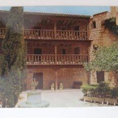 Postales: ALARCÓN - PARADOR NACIONAL MARQUÉS DE VILLENA - CUENCA - LMX - CLM5. Lote 213683795