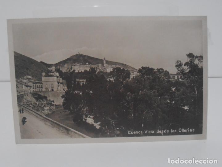 ANTIGUA POSTAL, CUENCA, VISTAS DESDE LAS OLLEIRAS, SIN CIRCULAR (Postales - España - Castilla La Mancha Antigua (hasta 1939))